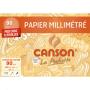 Canson Pochette Papier Millimétré A4