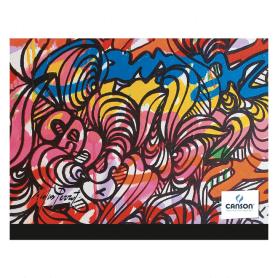 Carton à dessin CANSON Studio 26x33cm Edition Artiste multicolore