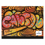 Carton à dessin CANSON Studio 26x33cm Edition Artiste orange