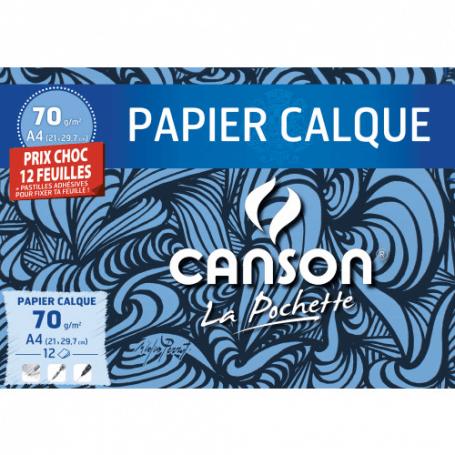 CANSON Papier calque A4 70 g/m2