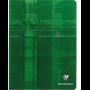 clairefontaine cahier piqué 17x22cm 96 pages grands carreaux(séyès)