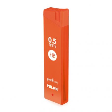 Tube 12 mines hb 0.5mm