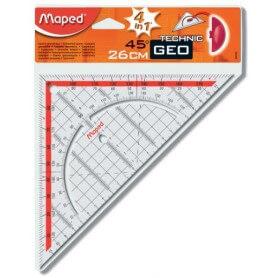 Maped équerre géo technic, hypoténuse:260 mm
