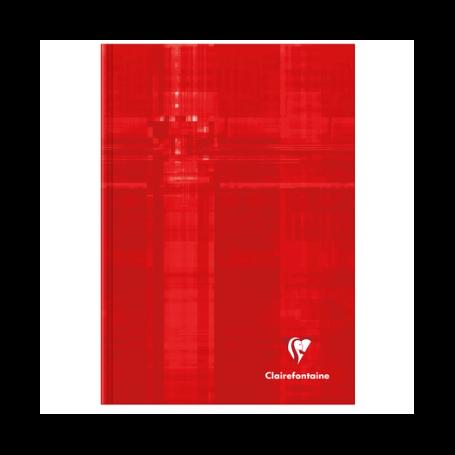 Carnet brochure rembordée rigide A5 192 pages petits carreaux