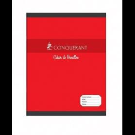 CONQUERANT SEPT Cahier de brouillon 170 x 220 mm Seyès 48 pages