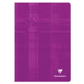 Clairefontaine cahier piqué 80 pages 21x29,7 grands carreaux