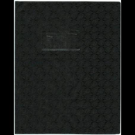 Elba Protege Cahier 17x22 Noir
