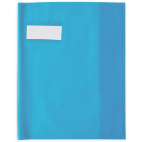ELBA Protège-cahier 170 x 220 mm Bleu turquoise style sms