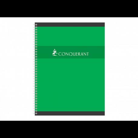 CONQUERANT SEPT Cahier reliure intégrale, 240 x 320 mm Seyès