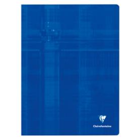 Clairefontaine Cahier piqûre, 240 x 320 mm, 48 pages, séyès (grands carreaux)