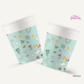 Gobelets en Carton - 200 ml princesse
