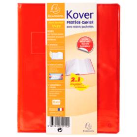 EXACOMPTA Protège-cahier Kover, PVC 17x22